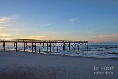 Photograph - Early Morning Pier by Laurinda Bowling