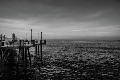 Early Morning Redondo By Mike-hope Art Print