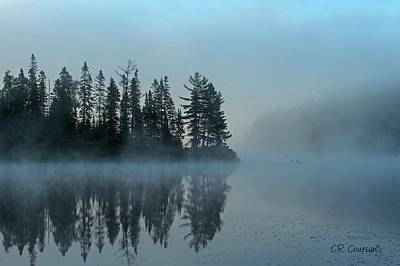 Photograph - Early Morning Reflection by CR Courson