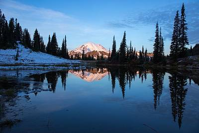Photograph - Early Morning Reflection by Lynn Hopwood