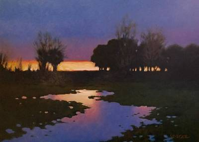 Painting - Early Morning Rice Fields by Kevin Lawrence Leveque