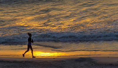 Photograph - Early Morning Run by Lynn Hansen