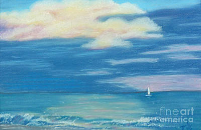 Painting - Early Morning Sailing by Terri Mills