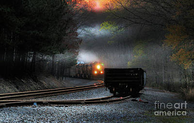 Photograph - Early Morning Steel by Rick Lipscomb