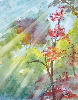 Early Morning Sun Art Print by Kris Dixon