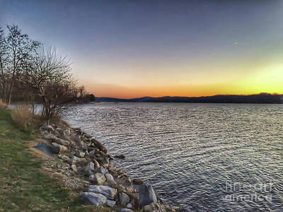 Photograph - Early Morning Sunrise At Claytor Lake State Park by Kerri Farley