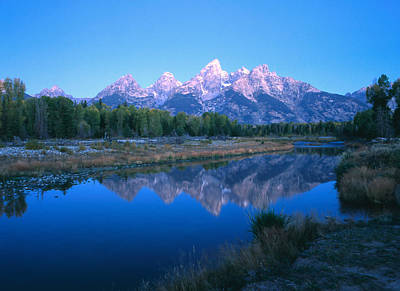 Photograph - Early Morning Tetons by Peter Skiba