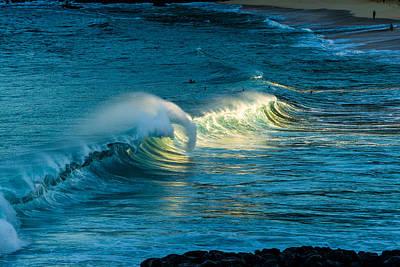 Wsl Photograph - Early Morning Waimea 1 by Chris and Wally Rivera