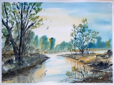 Early Morning Original by Yuliya Schuster