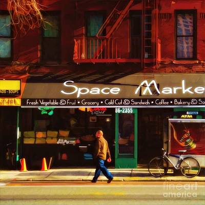 Photograph - Early New York Morning by Miriam Danar
