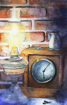 Painting - Early Nightfall by Marsha Karle