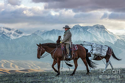 Photograph - Early October Hunt Wild West Photography Art By Kaylyn Franks by Kaylyn Franks