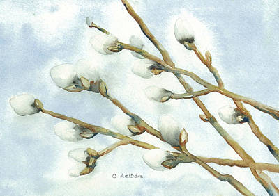 Early Signs Of Spring Art Print by Corinne Aelbers