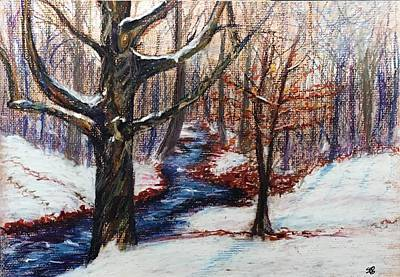 Painting - Early Snow by Susan Brooks