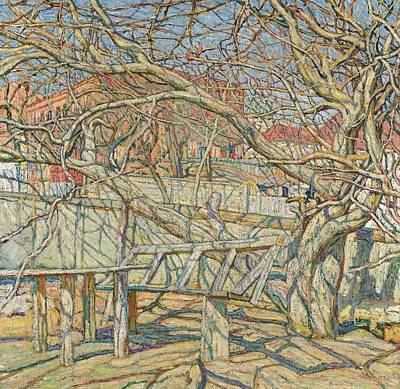 Early Spring Painting - Early Spring by Abraham Manievich