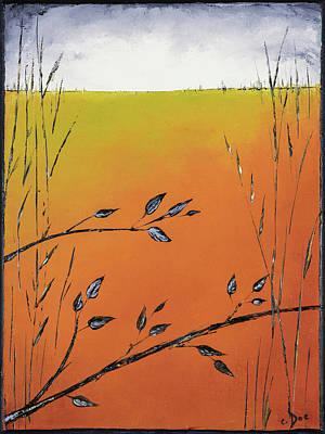 Early Spring  Art Print by Carolyn Doe
