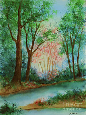 Painting - Early Spring by Jeanette French