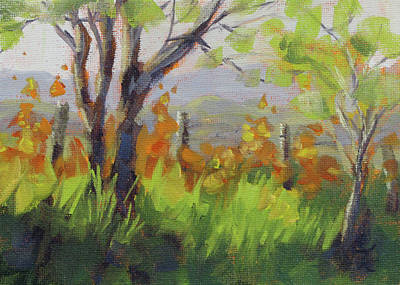 Painting - Early Spring by Karen Ilari