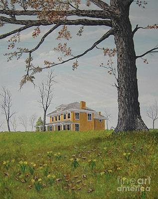 Painting - Early Spring by Norm Starks