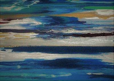 Painting - Early Spring Thaw by Charlotte Nunn