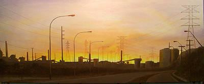 Early Start Port Kembla Art Print by Brett McGrath