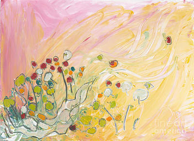 Early Summer Winds Art Print by Christine Alfery