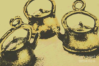Teapot Photograph - Early Vintage Tea by Jorgo Photography - Wall Art Gallery