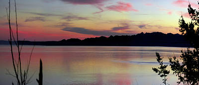 Early Whidbey Island Sunset  Art Print by Mary Gaines