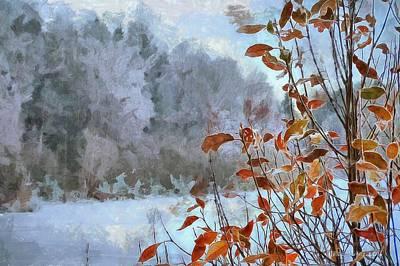 Digital Art - Early Winter by Jean-Louis Adorsen