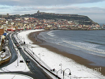 Photograph - Early Winter - Scarborough Seafront by Phil Banks