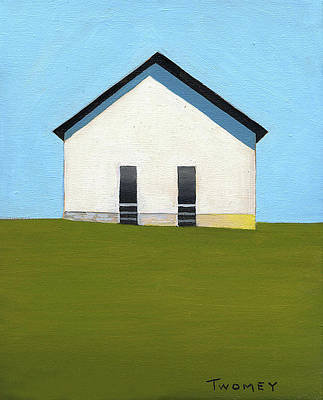 Blue Ridge Painting - Earlysville Baptist Church by Catherine Twomey