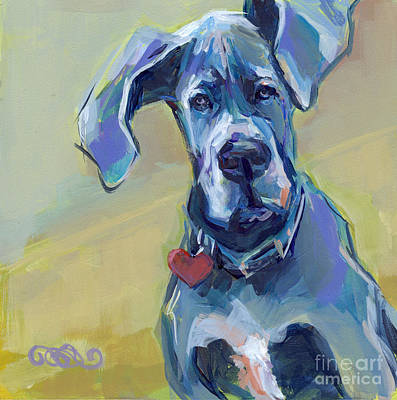 Great Painting - Ears by Kimberly Santini