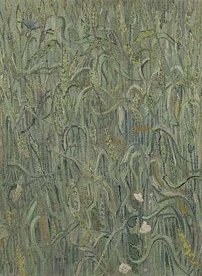 Painting - Ears Of Wheat Auvers Sur  Oise June 1890 Vincent Van Gogh 1853  1890 by Artistic Panda