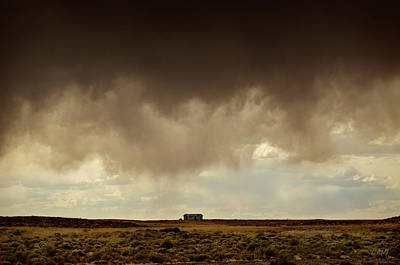 Photograph - Earth And Clouds New Mexico II by Dave Gordon