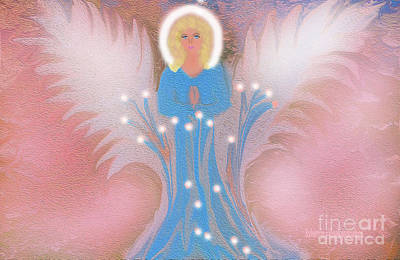Digital Art - Earth Angel Of Love by Sherri Of Palm Springs