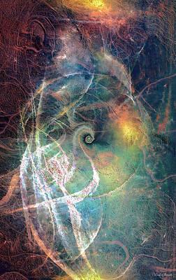 Digital Art - Earth Angels by Linda Sannuti