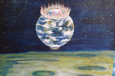 Painting - Earth Aura by Ronda Douglas