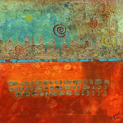 Painting - Earth Below by The Art Of JudiLynn
