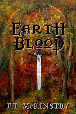 Painting - Earth Blood Cover Art by FT McKinstry