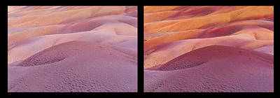 Photograph - Earth Bodyscape.  Natural Abstract. Diptych by Jenny Rainbow