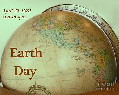 Photograph - Earth Day Always by Barbie Corbett-Newmin