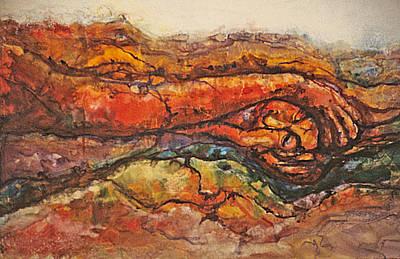 Earth Has A Headache Original by Catherine Foster