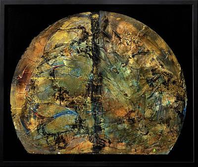 Joan Raspo Wall Art - Painting - Earth by Joan Raspo