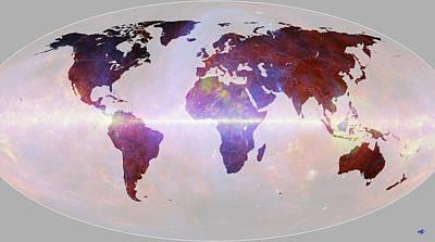 Digital Art - Earth Project 35 by Thomas M Pikolin