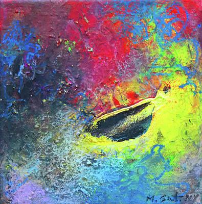 Painting - Earth Smiles by Mira Satryan