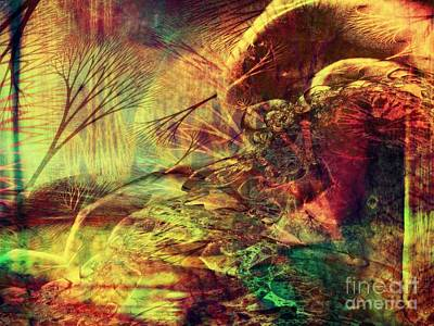 Digital Art - Earth Song 11 by Helene Kippert