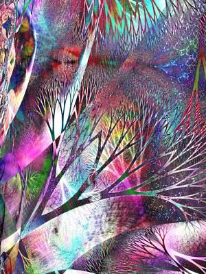 Gaia Digital Art - Earth Song 7 by Helene Kippert