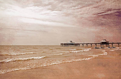 Photograph - Earth Tone Fort Myers Pier by Aimee L Maher ALM GALLERY