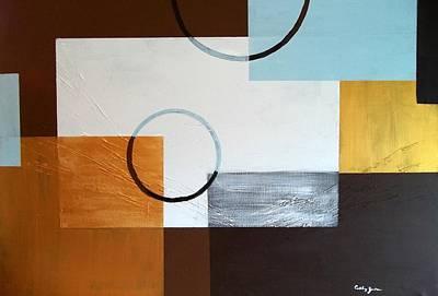 Ethereal - Earth tones by Cathy Jourdan