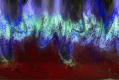 Digital Art - Earth Tremor by Linda Sannuti